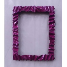 Frame design WROUGHT IRON for mirror or photos with LED on 4 sides. cm 86 x 112 . 850