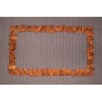 Frame design WROUGHT IRON for mirror or photos without LED. cm 60 x 100 . 850