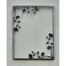 Frame design in IRON for mirror . cm 65 x 84 . Art. 813