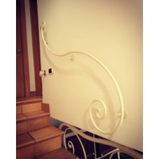 Wrought Iron Handrail. Personalised Executions. 394