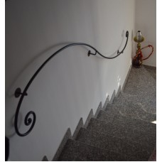 Wrought Iron Handrail. Personalised Executions. 398