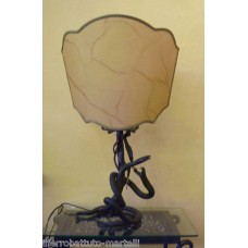 Wrought Iron Table Lamp. Personalised Executions. 498