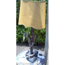 Wrought Iron Table Lamp. Personalised Executions. 499