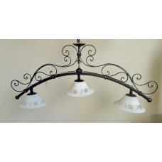 Wrought Iron Chandelier. Personalised Executions.  with STANDARD or SMART lighting . 1055