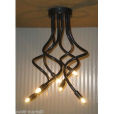 Iron Chandelier . Iron color . 6 Lights . 293