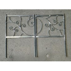 Wrought iron bed. Personalised Executions. 1202
