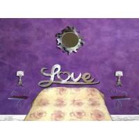 Bed Design in Iron . Love Dream Model . 924