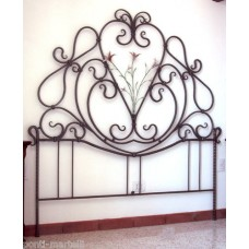 Wrought iron bed. Personalised Executions.  969