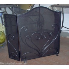 Wrought Iron Fender for Fireplace. Personalised Executions. 408