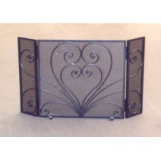 Wrought Iron Fender for Fireplace. Personalised Executions. 410