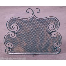Wrought Iron Fender for Fireplace. Personalised Executions. 412