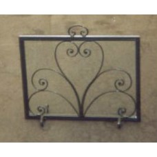 Wrought Iron Fender for Fireplace. Personalised Executions. 414