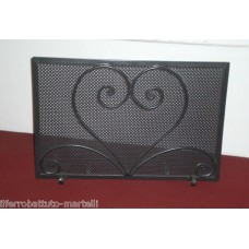 Wrought Iron Fender for Fireplace. Personalised Executions. 416