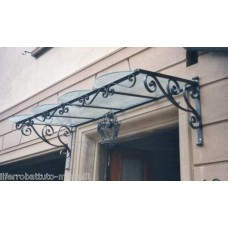 Shelter Canopy Stainless Steel. Wrought Iron. Personalised Executions. 353