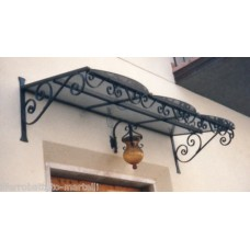 Shelter Canopy Stainless Steel. Wrought Iron. Personalised Executions. 354