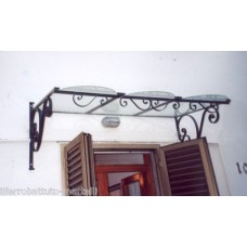 Shelter Canopy Stainless Steel. Wrought Iron. Personalised Executions. 356