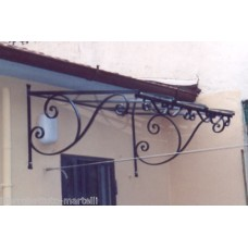 Shelter Canopy Stainless Steel. Wrought Iron. Personalised Executions. 357
