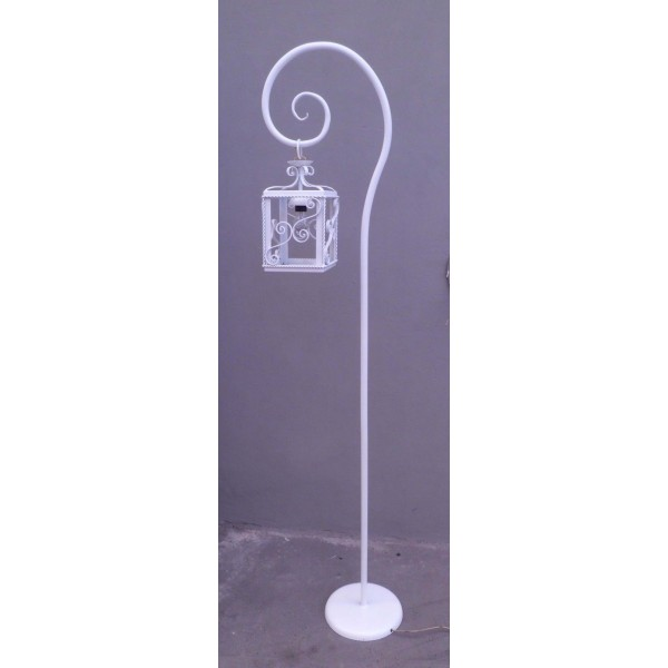 Wrought Iron Floor Lamp. Personalised Executions. 479