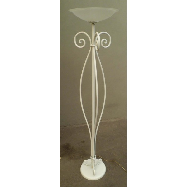 Wrought Iron Floor Lamp. Personalised Executions.480