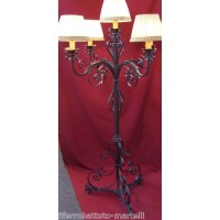 Wrought Iron Floor Lamp. Personalised Executions. 482