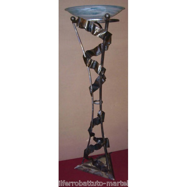 Wrought Iron Floor Lamp. Personalised Executions. 483