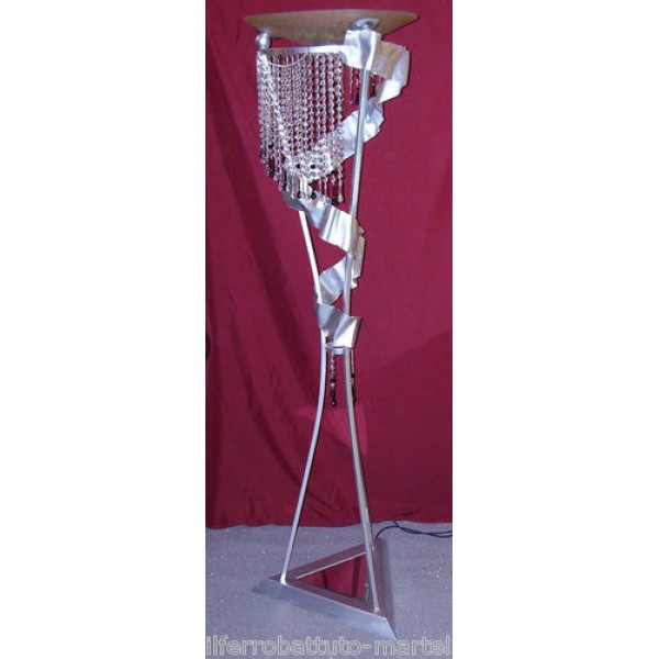 Wrought Iron Floor Lamp. Personalised Executions. 484