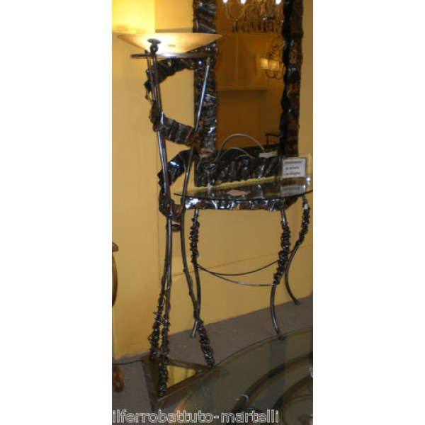 Wrought Iron Floor Lamp. Personalised Executions. 485