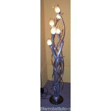 Wrought Iron Floor Lamp. Personalised Executions. 487