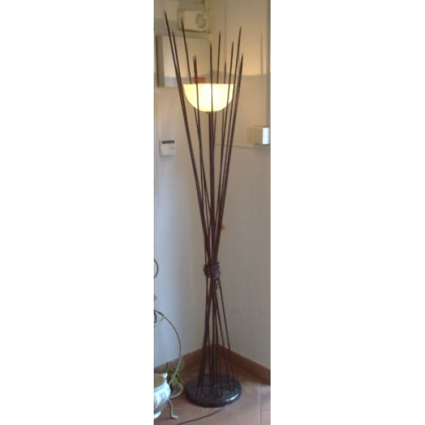Wrought Iron Floor Lamp. Personalised Executions.490