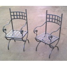 Chair Wrought Iron. Personalised Executions. 442