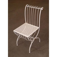 Chair Wrought Iron. Personalised Executions. 449