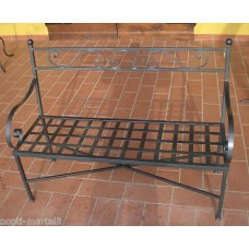 Bench Wrought Iron. Personalised Executions. 451