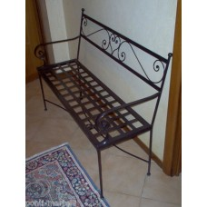 Bench Wrought Iron. Personalised Executions. 452