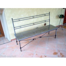 Bench Wrought Iron. Personalised Executions. 453