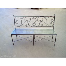 Bench Wrought Iron. Personalised Executions. 454