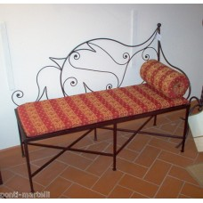 Bench Wrought Iron. Personalised Executions. 456