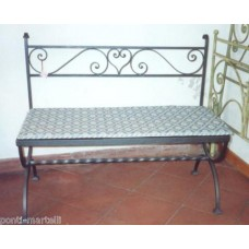 Bench Wrought Iron. Personalised Executions. 458