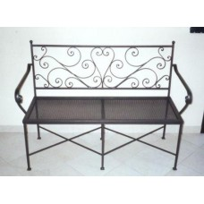 Bench Wrought Iron. Personalised Executions. 460
