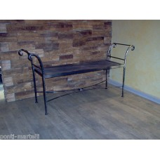 Bench Wrought Iron. Personalised Executions. 463