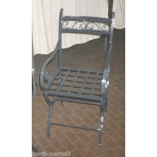 Chair Wrought Iron. Personalised Executions. 467