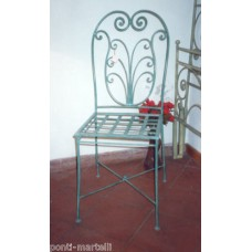 Chair Wrought Iron. Personalised Executions. 469