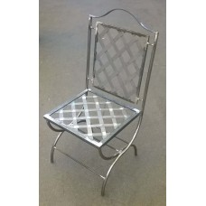 Chair Wrought Iron. Size approx. 45 x 45 x 115 cm .  471