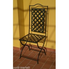 Chair Wrought Iron. Personalised Executions. 471