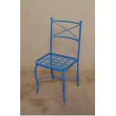 Chair Wrought Iron. Size approx. 45 x 45 x 88 cm . 474