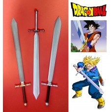 Dragonball's Sword Z in Steel. Collectible sword. Handcrafted reproduction. Art. 1803