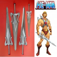He-Man's Sword of Power in Steel. Collectible sword. Handcrafted reproduction. Art. 1800