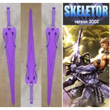 Skeletor's Sword in Steel. Collectible sword. Handcrafted reproduction. Art. 1808