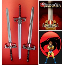 Sword of Omens of Lion-O Thundercats in Steel. Collectible sword. Handcrafted reproduction. Art. 1801